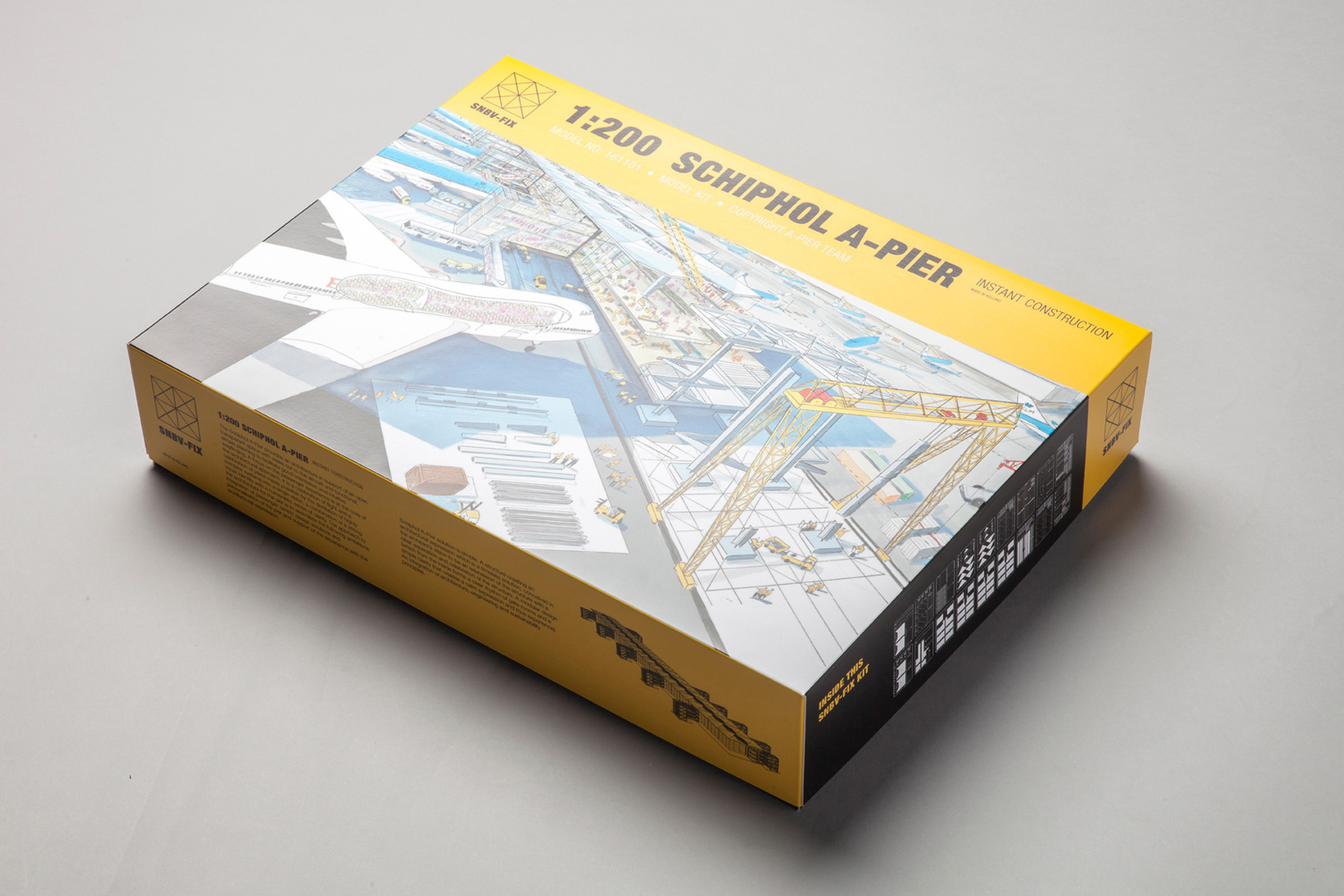 Bespoke 'Airfix style' packaging